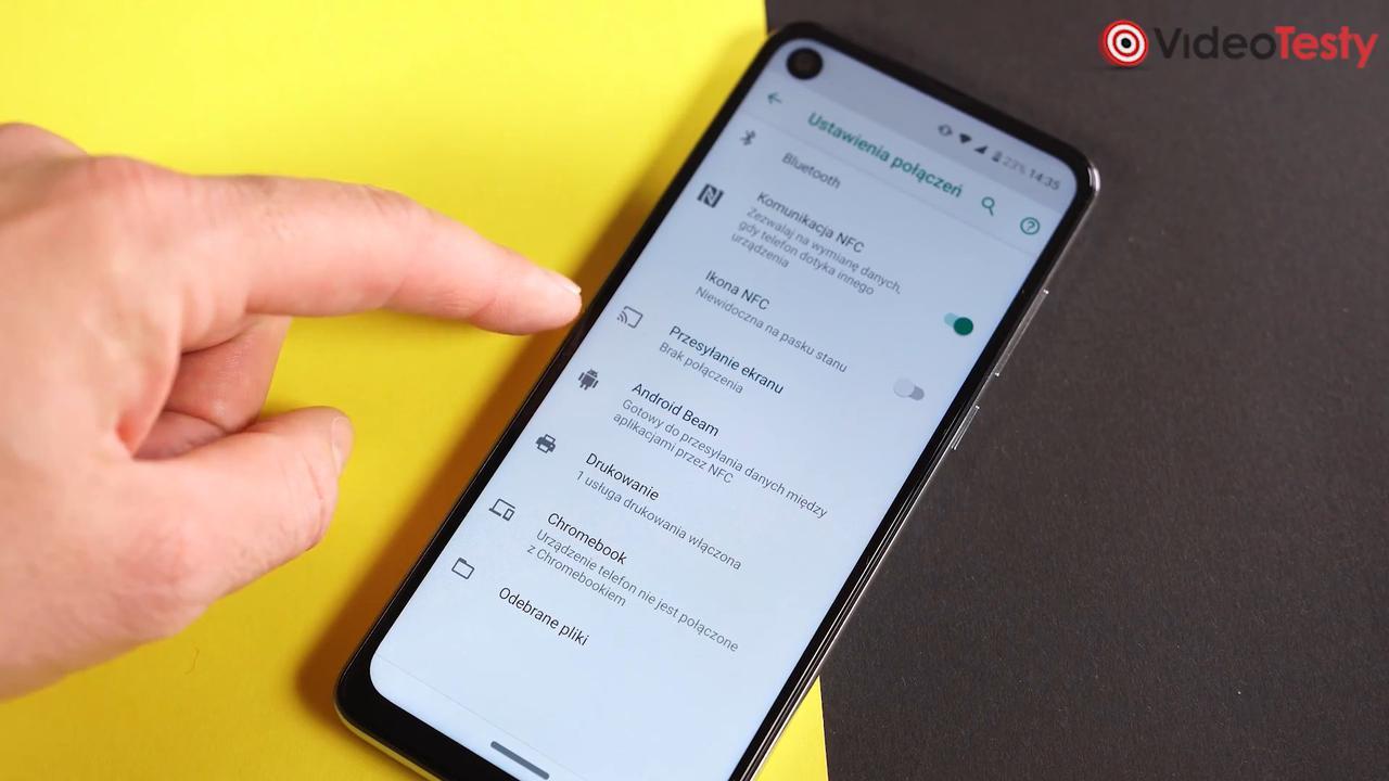 Obecność NFC w Motoroli One Action może być sporym plusem