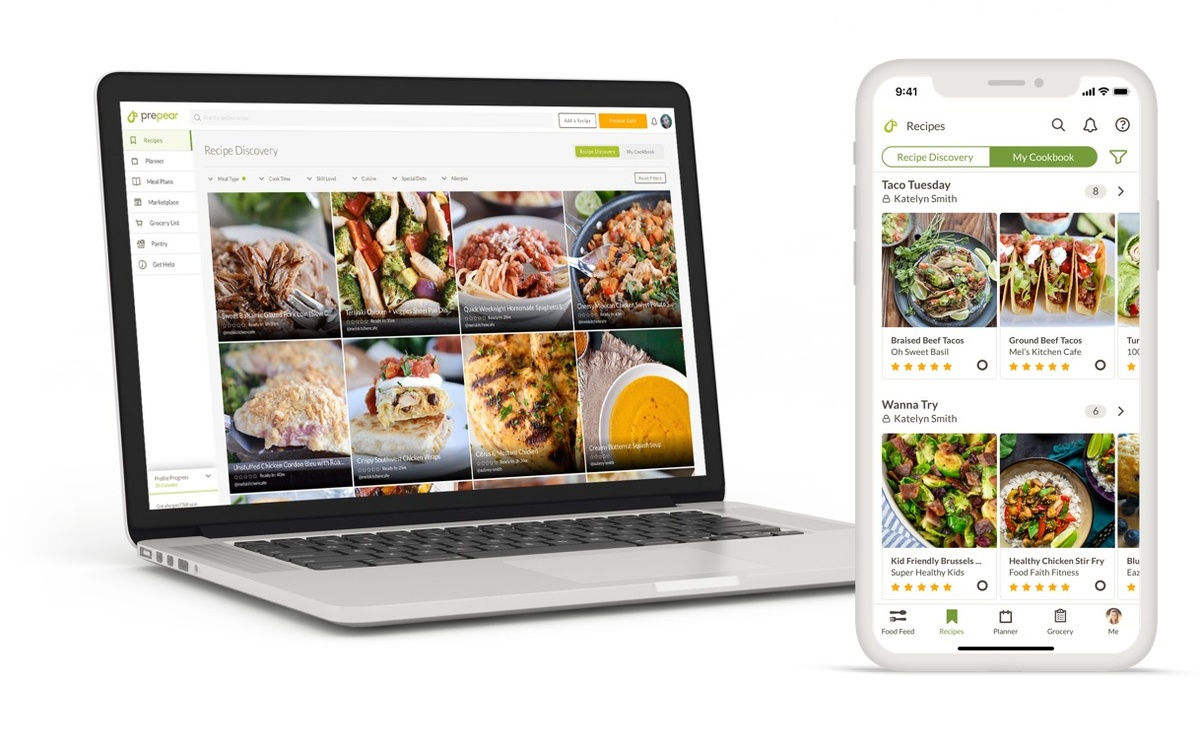 Aplikacja Prepear pomaga zaplanować i przygotować posiłki