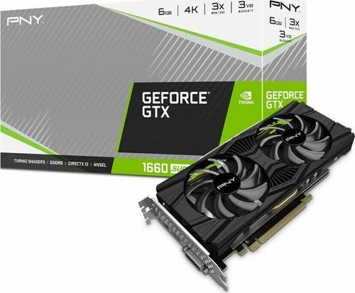 PNY Technologies GeForce GTX 1660 SUPER Twin Fan 6GB GDDR6