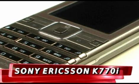 Sony Ericsson k770i [TEST]