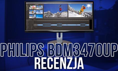 Monitor 21:9 Dla Profesjonalistów! - Philips BDM3470UP RECENZJA