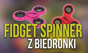 Kultowe Fidget Spinnery od Jutra w Biedronce