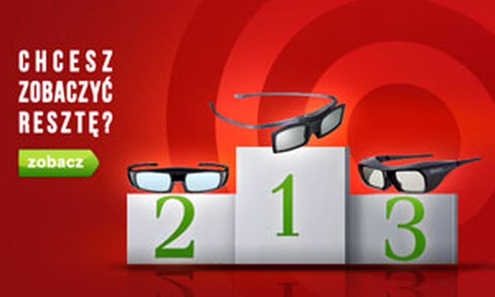 Klasyfikacja Okularów 3D - Ranking Luty 2015