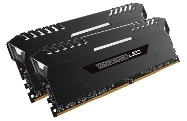 Corsair Vengeance White LED 16GB DDR4 3200MHz CL16
