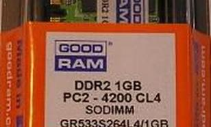 GoodRam DDR2 2048MB PC800 CL6 SODIMM (GR800S264L6/2G)
