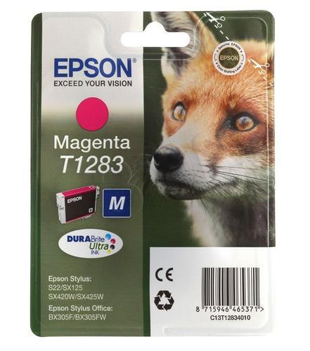 EPSON Tusz Czerwony T1283=C13T12834011, 3.5 ml