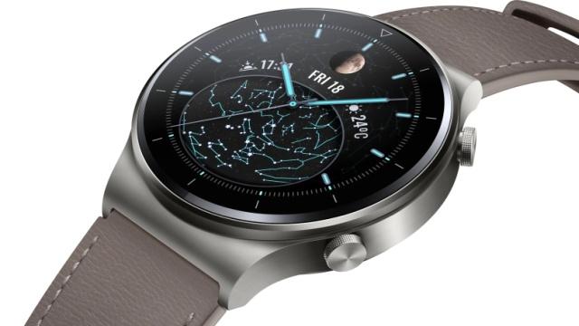 Huawei Watch GT2 Pro posiada skórzany pasek
