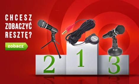 Czołowe Mikrofony - TOP 10 Czerwiec 2015