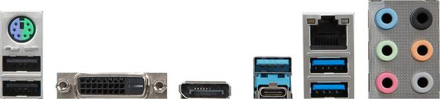 MSI B360-A PRO - porty z tyłu