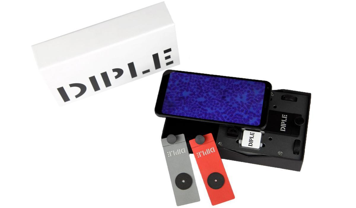Diple oferuje szkiełka dające różne powiększenie