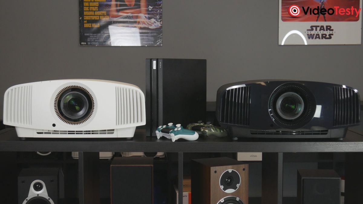 Sony VPL-VW570ES dwa kolory czarny i biały