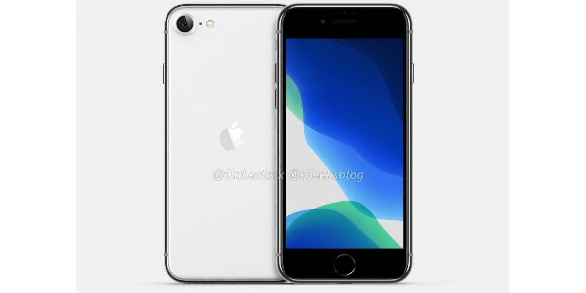 iPhone SE 2 ma zadebiutować jeszcze w pierwszej połowie roku (źródło: Onleaks)