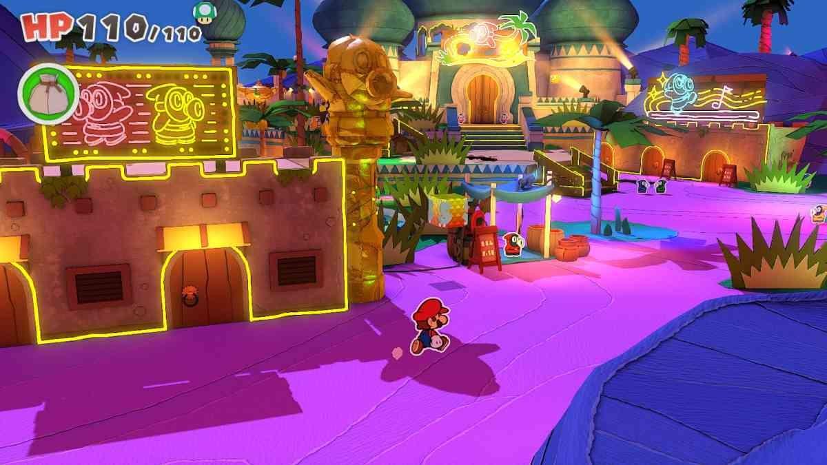 Paper Mario: The Origami King - Cukierkowe Mario