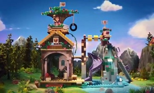 LEGO Friends Domek na drzewie (41122)
