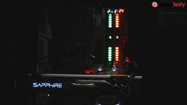Podświetlenie Sapphire RX 570 Nitro+ 8GB