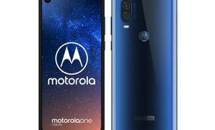 Motorola One Vision 4/128GB DS (niebieski)