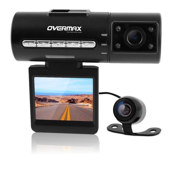 Kamery samochodowe od Overmax - idealne dla każdego kierowcy!