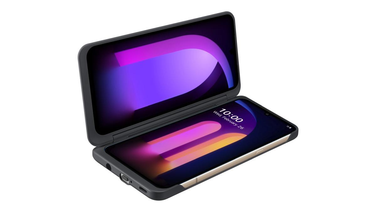 LG V60 Dual Screen podwoi przestrzeń roboczą