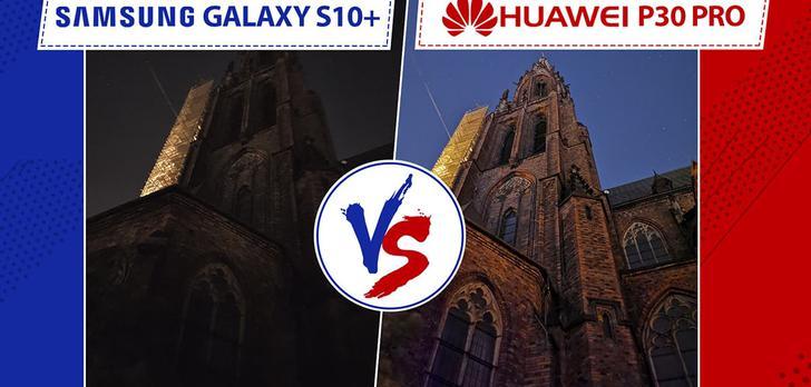 Porównanie Huawei P30 Pro vs. Samsung Galaxy S10+ | Starcie na szczycie