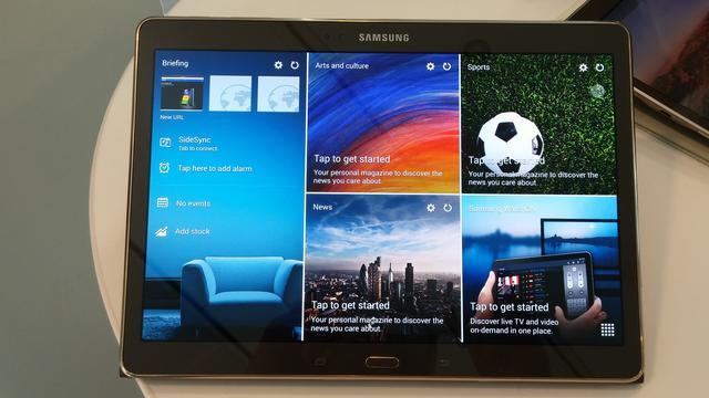 Samsung GALAXY Tab S - Wielozadaniowość Na Najwyższym Poziomie