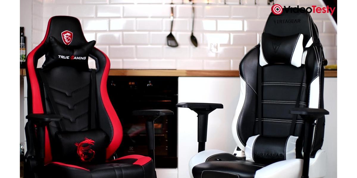 Porównanie foteli gamingowych za 1500 zł - Vertagear PL6000 vs MSI MAG CH110