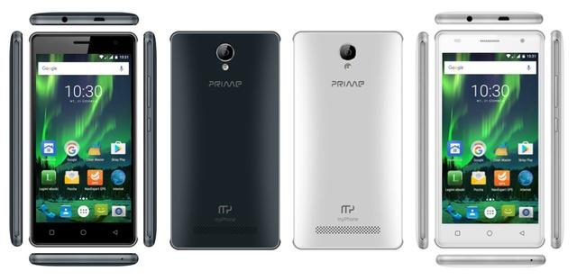 myphone biały i czarny