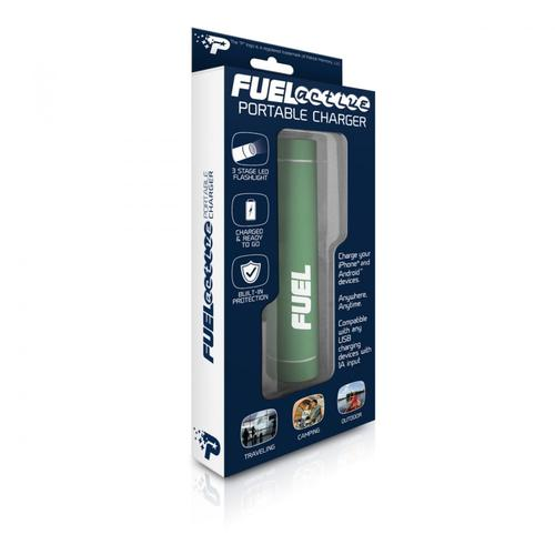 Patriot Bateria Fuel Active 2000mAh USB latarka 3 funkcje LED aluminium -forest green