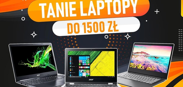 Jaki tani laptop do 1500 zł? |TOP 5|