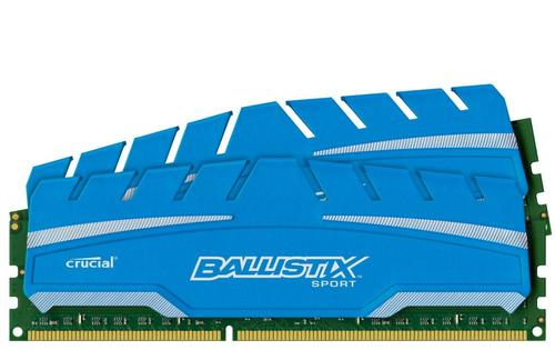Crucial DDR3 Ballistix Sport XT 16GB/1600(2*8GB) CL9-9-9-24