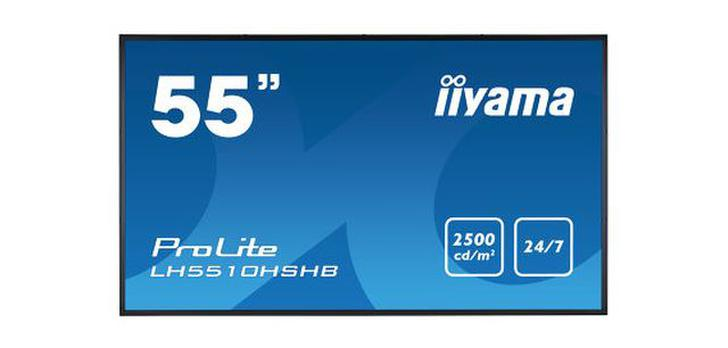Dwa ekrany digital signage - iiyama LH7510USHB-B1 i iiyama LH5510HSHB-B1!