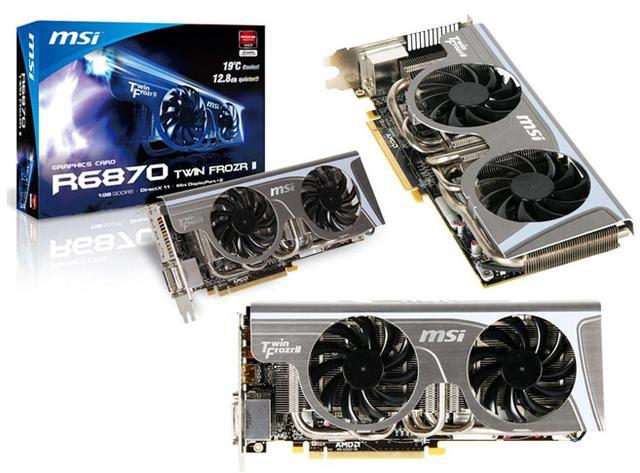 MSI Radeon 6870 TwinFrozr II