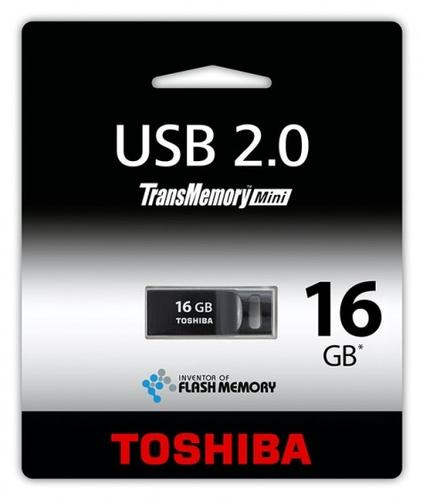 Toshiba SURUGA 16GB USB 2.0 BLACK