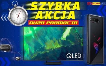 Oszczędź 500 zł na telewizorze! Szybka akcja w RTV Euro AGD