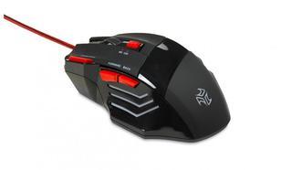 I-Box przewodowa optyczna Aurora 2400dpi Czarny