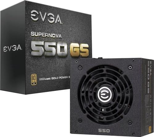 EVGA SuperNOVA GS 550 80 Plus Gold (220-GS-0550-V2)