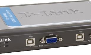 D-Link DKVM-4U 4xK/V/M 2048x1536/w.cables USBx4