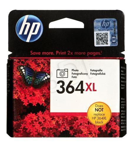 HP Tusz Foto Czarny HP364XL=CB322EE, 290 str., 6 ml