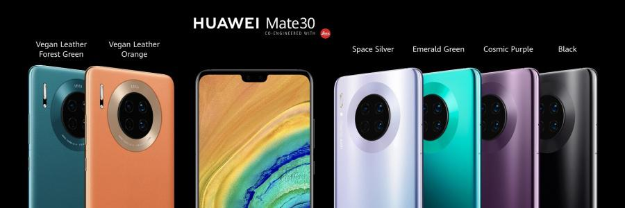 Takie kolory zaoferuje Huawei Mate 30