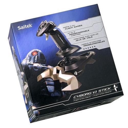 Saitek Joystick CYBORG V1 FIGHT STICK