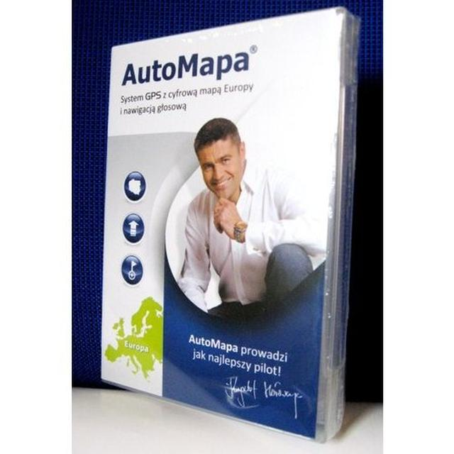 AutoMapa prezentuje najnowsze mapy Polski i Europy!