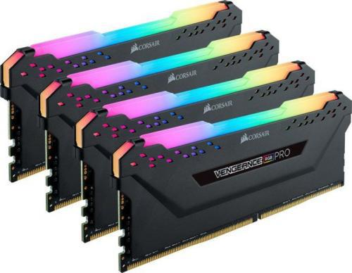 Corsair Vengeance RGB PRO DDR4, 4x8GB, 3200MHz, CL16