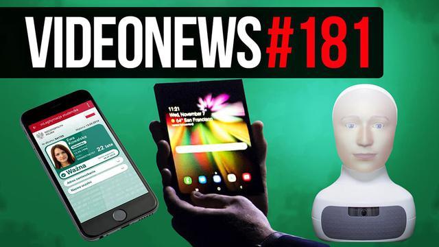 Słaba sprzedaż iPhone XR, ekran Samsung Infinity Flex, MLegitymacja - VideoNews #181