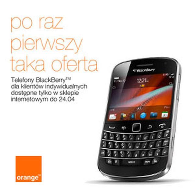 Smartfony Black Berry w szalonych cenach, dla każdego w Orange