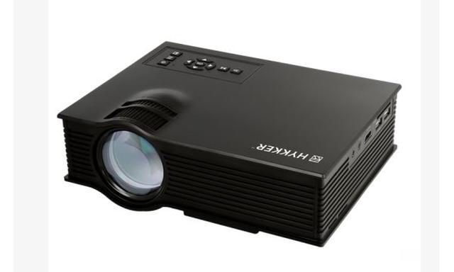 Hykker Vision 130, Czyli Taniutki Projektor LED z Biedronki