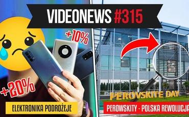 Podzespoły podrożeją, a polskie perowskity rewolucją solarną! - VideoNews #315