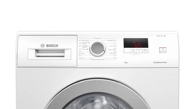 Pralka Bosch pozwoli szybko wyprać ubrania