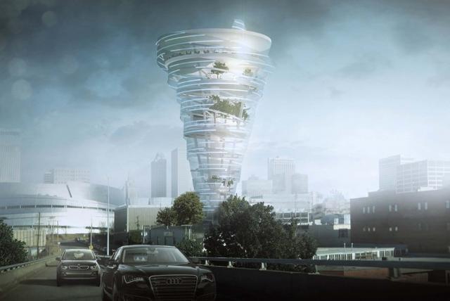 Budynek-Tornado, Czyli Kolejny Architektoniczny Fenomen