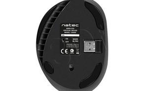 NATEC wertykalna Crake nano optyczna 2000DPI czarna