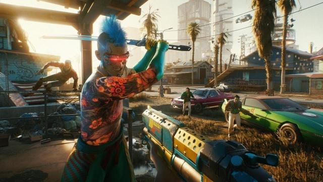 Cyberpunk 2077 wróci do cyfrowego sklepu Playstation