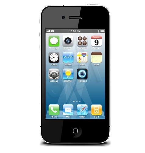 IPHONE 4S 8GB BLACK PL